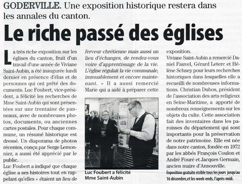 Goderville - Le riche passé des églises 2012-147