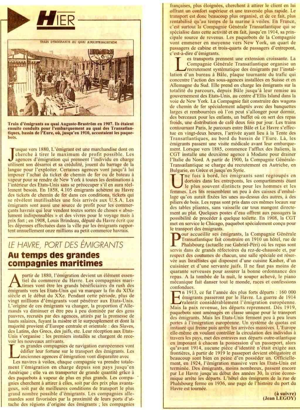 Hier, Le Havre par Jean LEGOY - Page 3 Train_10