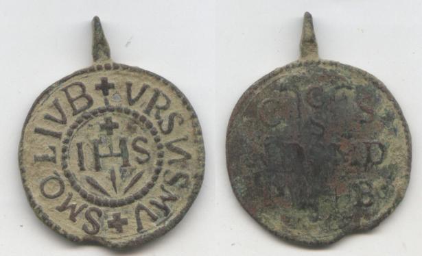 recopilación de medallas de San Benito Ihs10