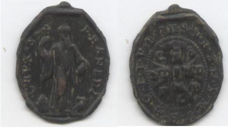 recopilación de medallas de San Benito San_xv11