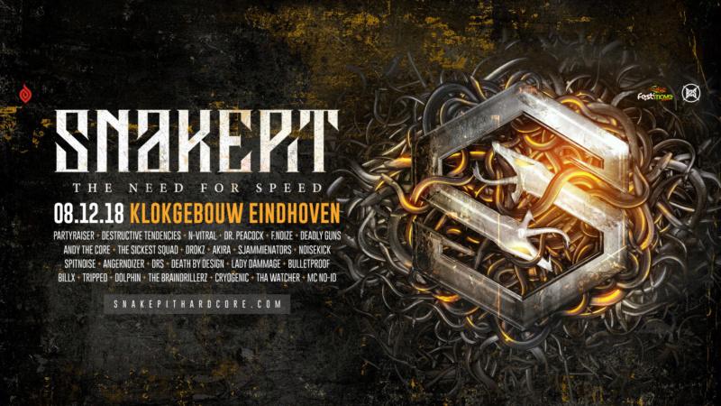 Snakepit - 8 Décembre 2018 - Klokgebouw - Eindhoven - NL 25073110