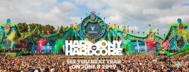 HARMONY OF HARDCORE - 8 Juin 2019 - Festivalterrein De Roost Erp/Veghel (NL) 32861010