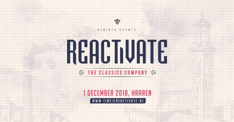 REACTiVATE 2018 - The Classics Company - 1 Decembre 2018 - Beekdal - Haaren - NL 36259610