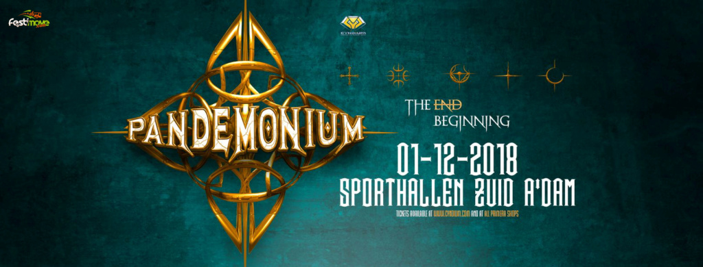 Pandemonium - 1 Décembre 2018 - Amsterdam - Sporthallen Zuid - NL 36576910