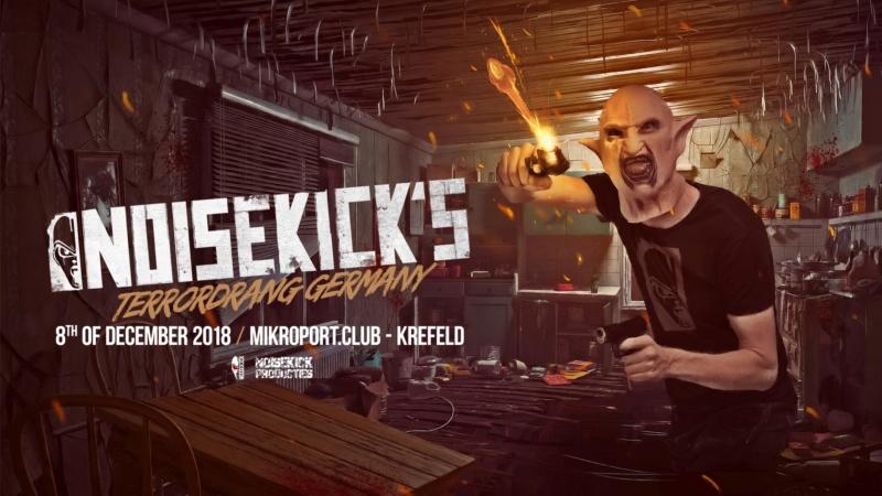 NOISEKICK'S TERRORDRANG GERMANY - Samedi 8 Décembre 2018 - Mikroport Club Krefeld - Allemagne 39087510