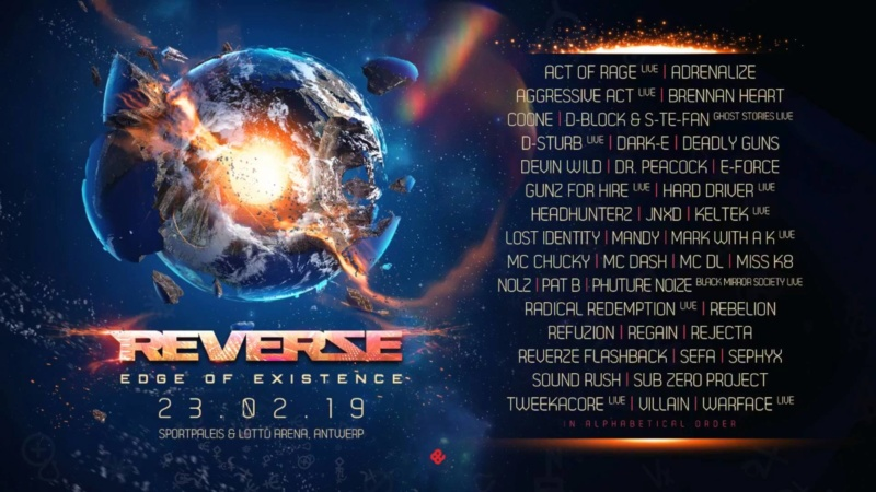 REVERZE - 22 Février 2019 - Sportpaleis/Lotto Arena - Anvers - BE 45006710
