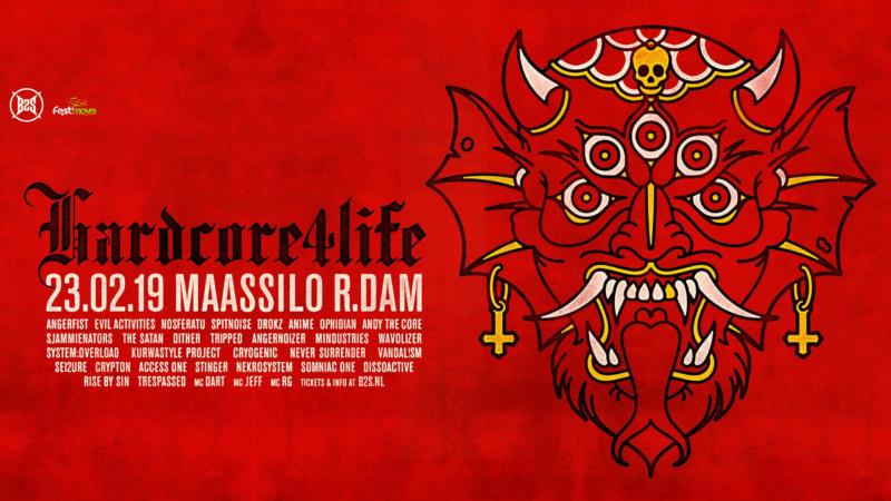 Hardcore4life - 23 Février 2019 - Maassilo - Rotterdam - NL 46183010