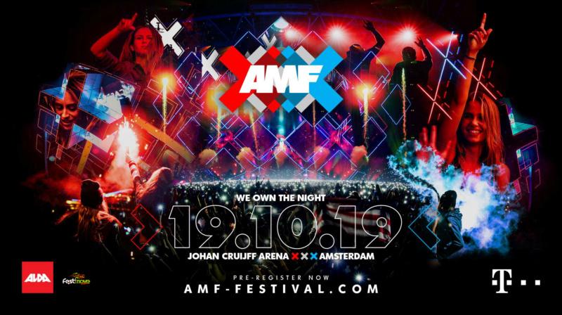 AMSTERDAM MUSIC FESTIVAL - 19 Octobre 2019 - Johan Cruijff ArenA (ex Amsterdam Arena) - NL 50523310