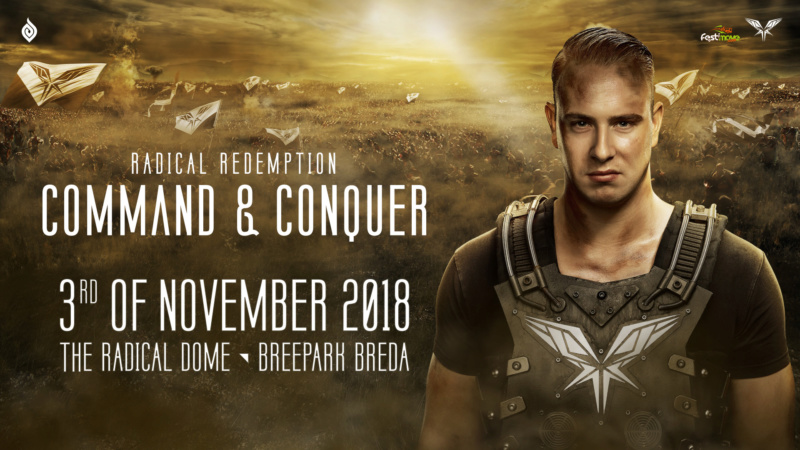 Radical Redemption - Command & Conquer - 3 Novembre 2018 - Radical Dome, Breepark Breda - NL Cover11
