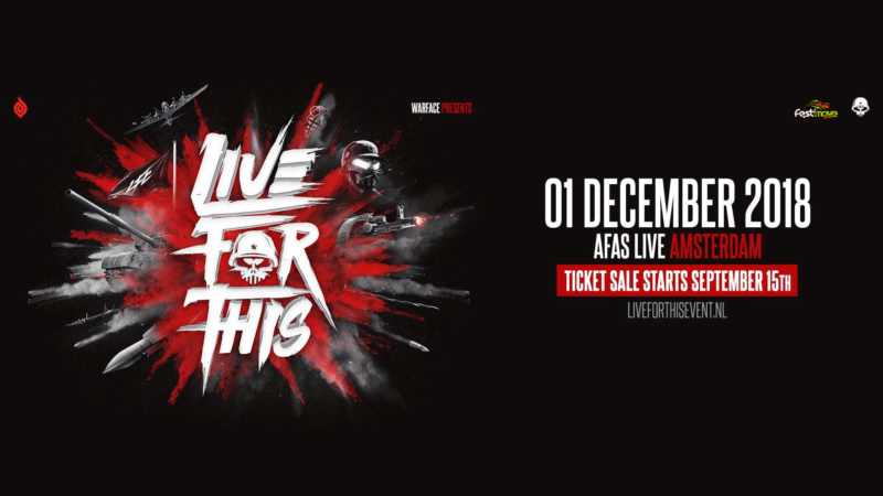 Warface presents Live For This - 1 Décembre 2018 - AFAS Live - Amsterdam - NL Live-f10
