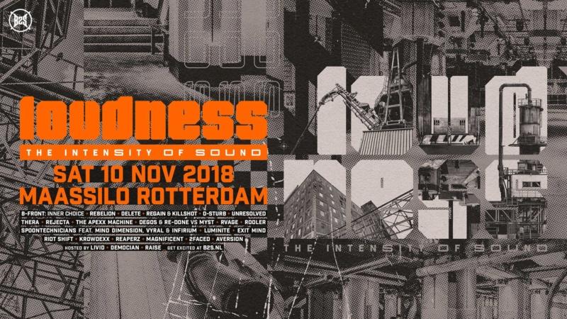 LOUDNESS - 10 Novembre 2018 - Maassilo - Rotterdam - NL Loudne10