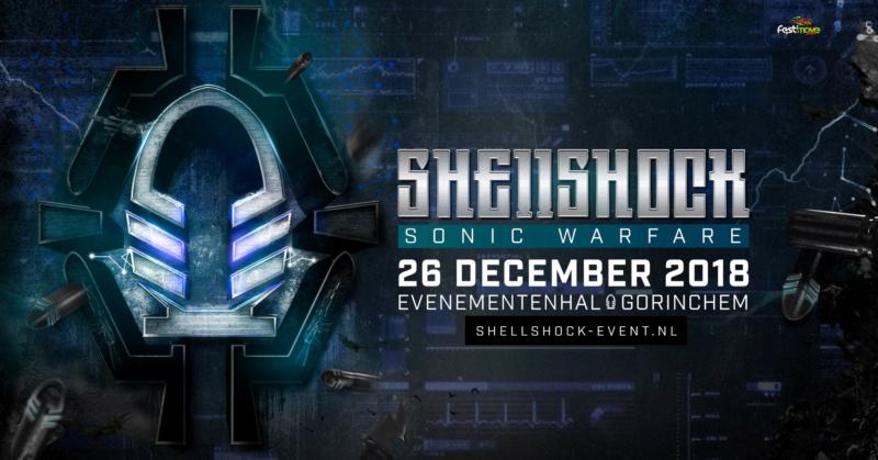 Shellshock 2018 - Sonic Warfare - 26 Décembre 2018 - Evenementenhal Gorinchem - NL Shells10