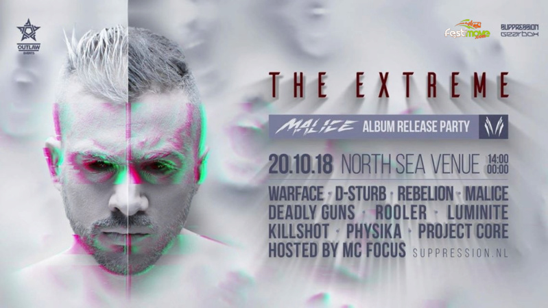 The Extreme - Malice Album Party - 20 Octobre 2018 - North Sea Venue - Zaandam - NL The-ex10