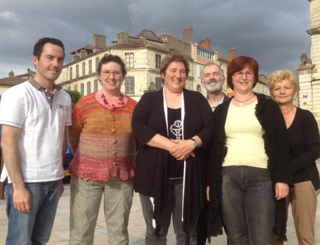 Legislatives 2012 : Eliane Crepel, candidate 1ere Circo. du Gers - MC Huby-Joubert, suppleante Groupe10