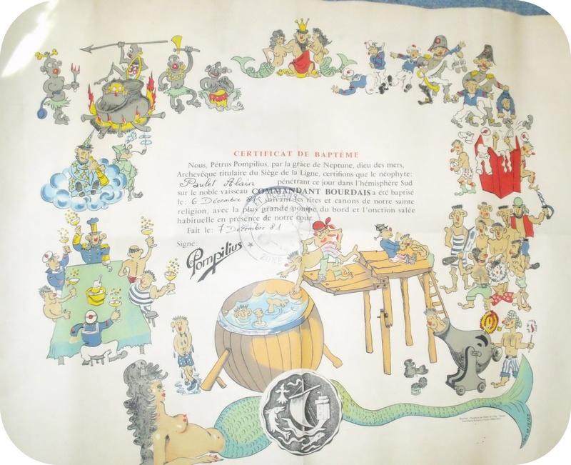 [ Les traditions dans la Marine ] Les diplômes de la Ligne - Page 3 Sans_t10