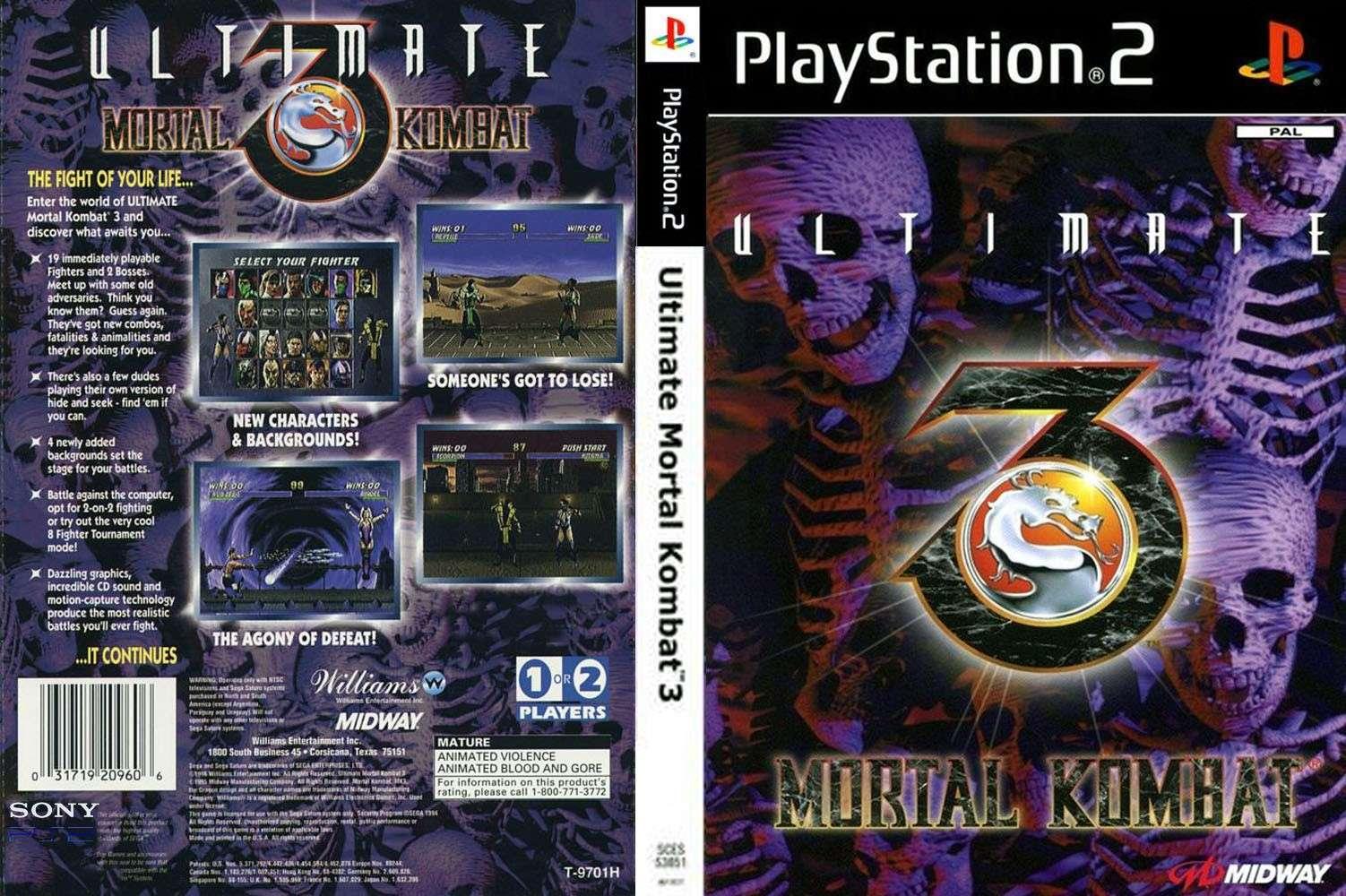 Ultimate Mortal Kombat 3 (PAL/???) Cover_10