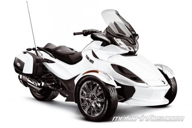 Can-Am 2013 : nouveau Spyder ST et évolutions de la gamme Can-am10