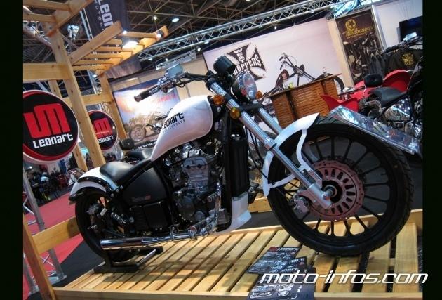 Piaggio va équiper les customs 125 Leonart Image_21