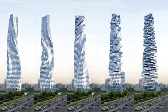 [Projet] Gratte-ciel rotatif by David FISHER 0098