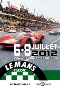 Le Mans Classic 6, 7, 8 juillet 2012 Affich11