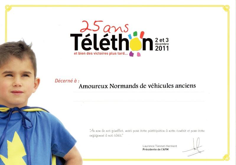 Téléthon à Deville lés Rouen samedi 3 Décembre - Page 2 Diplom10