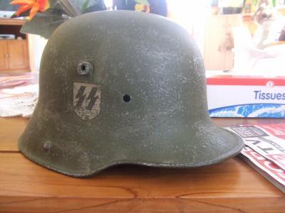 casque allemand  mdl 1916! 16010510