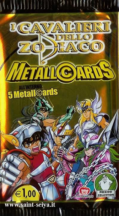 Cavalieri dello Zodiaco Metall©ards Metall12