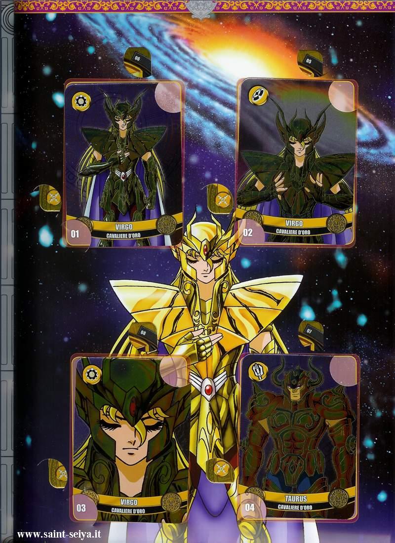 Cavalieri dello Zodiaco Metall©ards Metall15