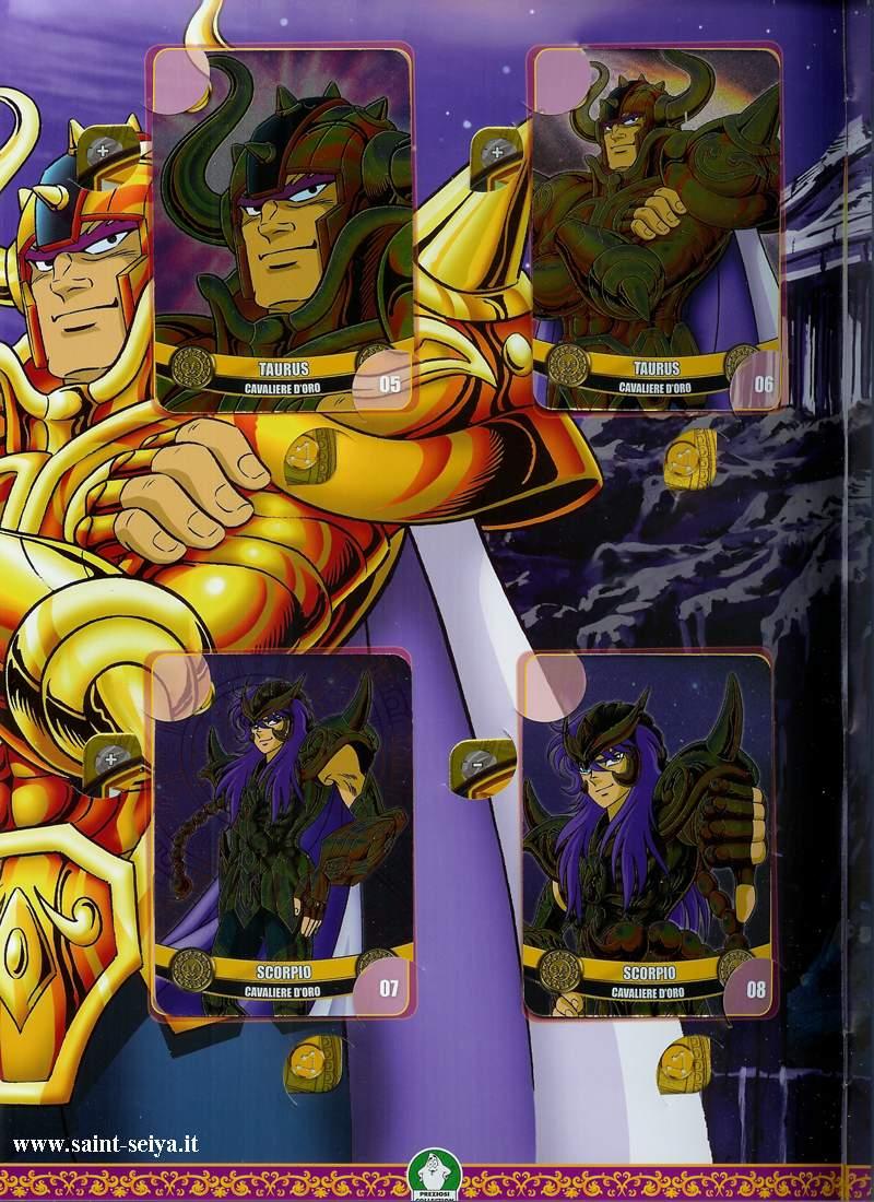 Cavalieri dello Zodiaco Metall©ards Metall16