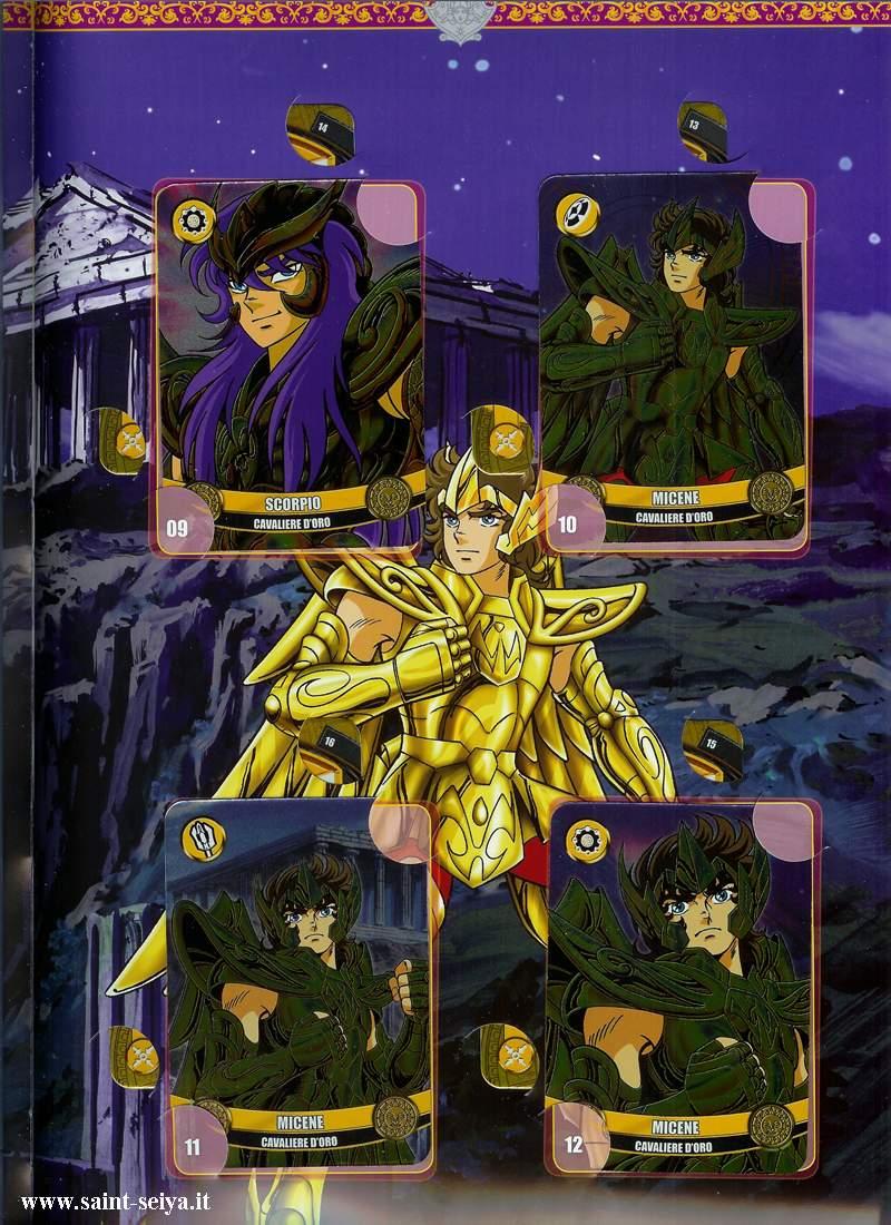 Cavalieri dello Zodiaco Metall©ards Metall17