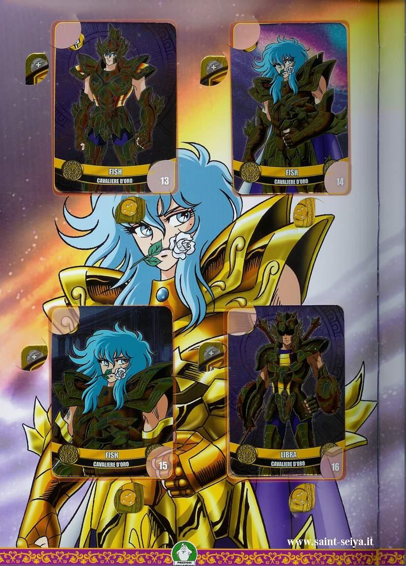 Cavalieri dello Zodiaco Metall©ards Metall18