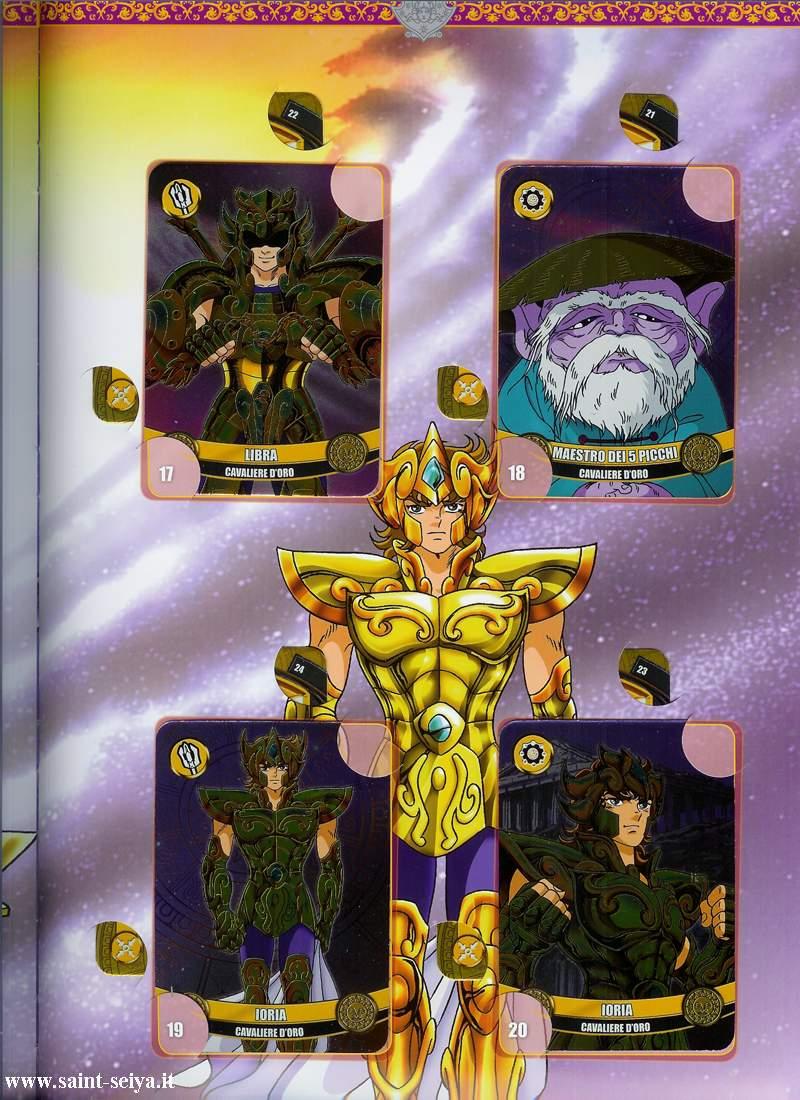 Cavalieri dello Zodiaco Metall©ards Metall19