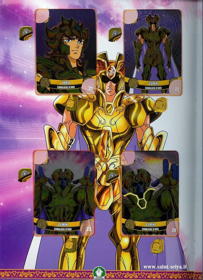 Cavalieri dello Zodiaco Metall©ards Metall20