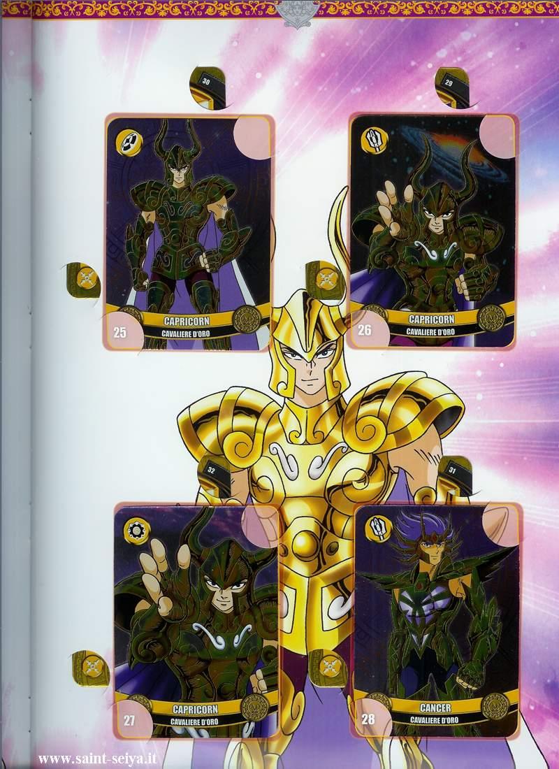 Cavalieri dello Zodiaco Metall©ards Metall21