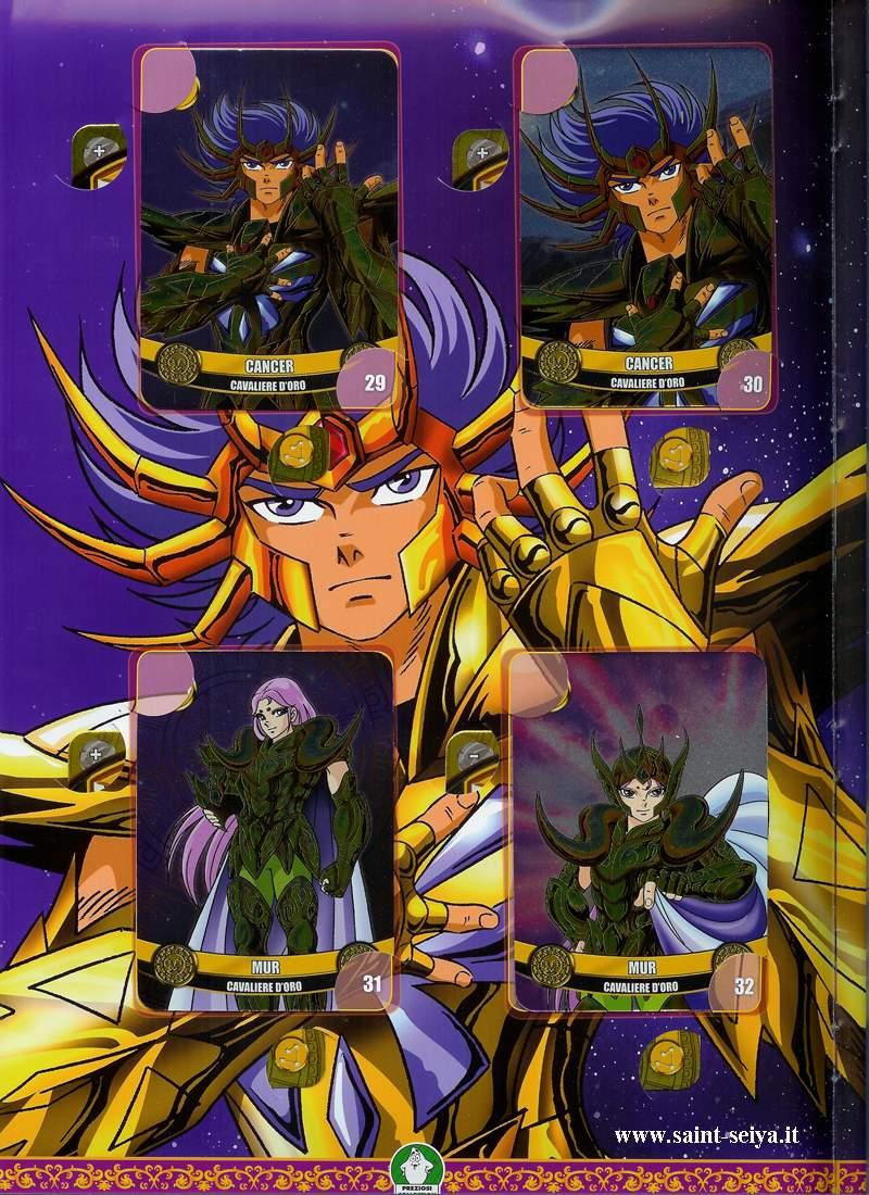 Cavalieri dello Zodiaco Metall©ards Metall22