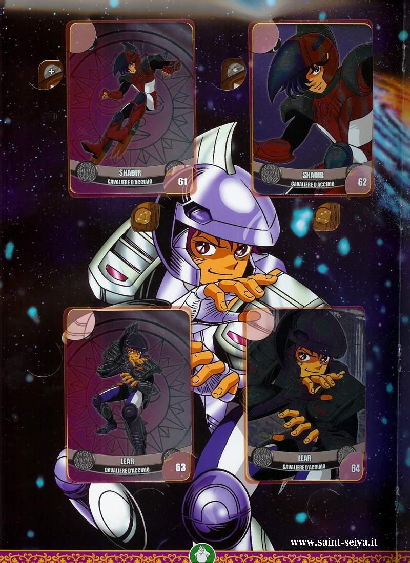 Cavalieri dello Zodiaco Metall©ards Metall25