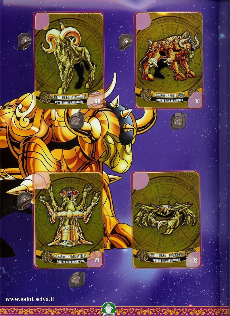 Cavalieri dello Zodiaco Metall©ards Metall26