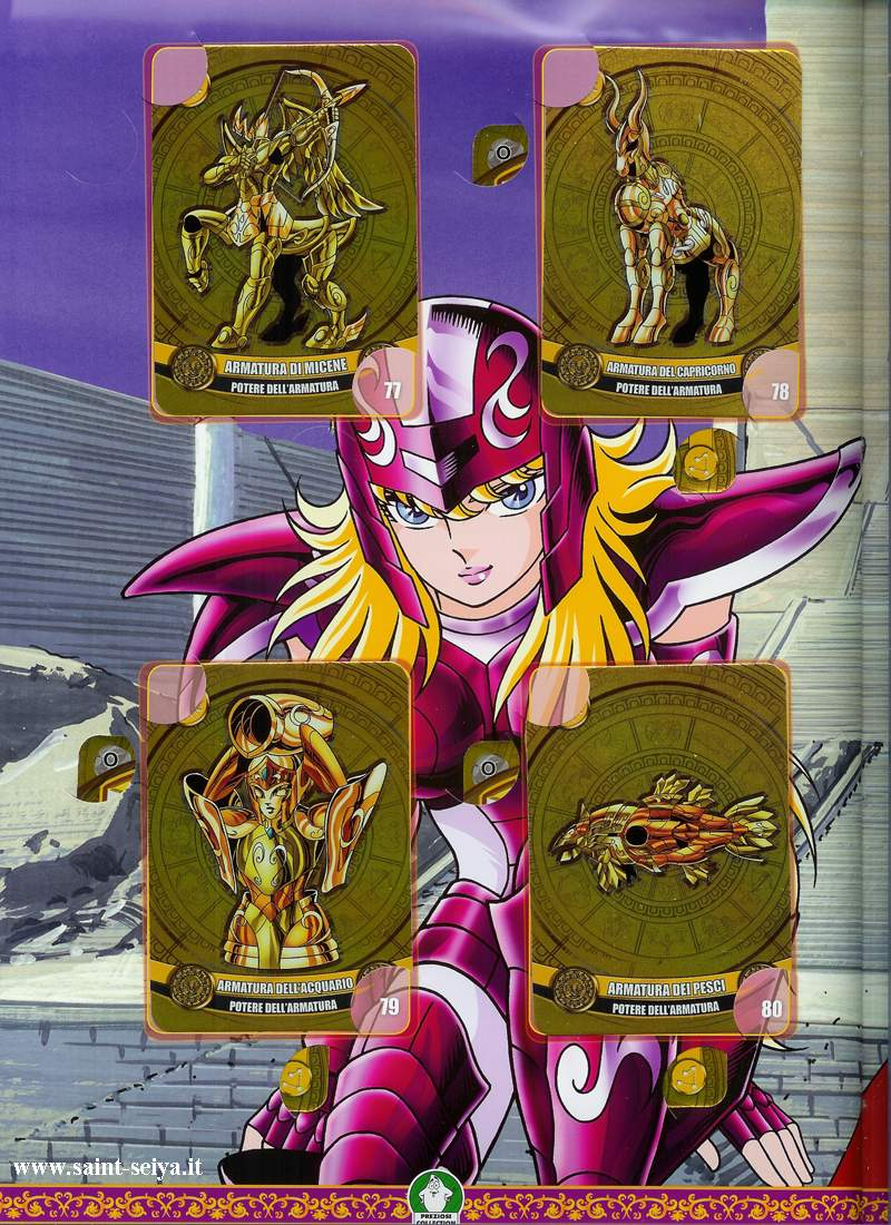 Cavalieri dello Zodiaco Metall©ards Metall27
