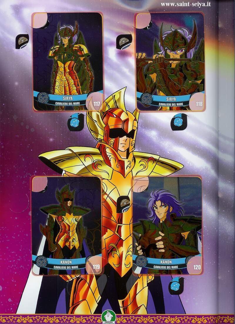 Cavalieri dello Zodiaco Metall©ards Metall32