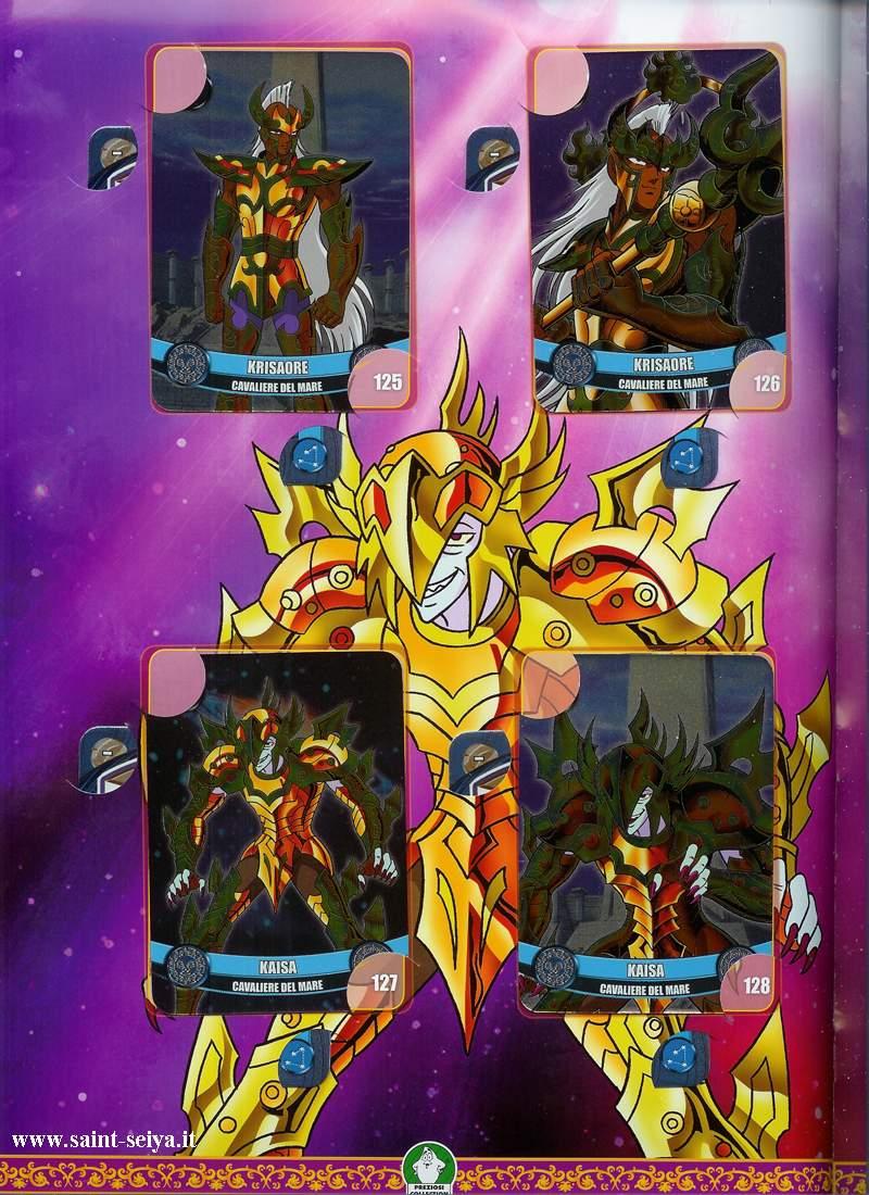 Cavalieri dello Zodiaco Metall©ards Metall34