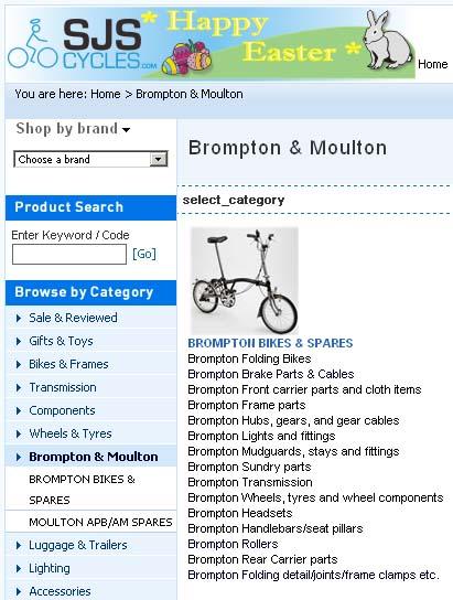 SJS Cycles: les pièces détachées Brompton: photos prix £/€ Sjs_cy10
