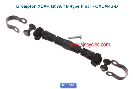 SJS Cycles: les pièces détachées Brompton: photos prix £/€ Xbar10