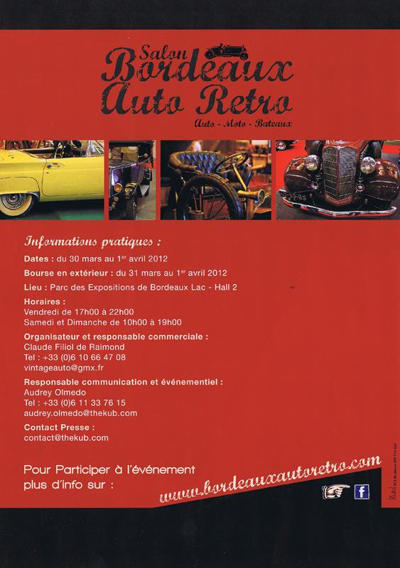 [33] Salon Bordeaux Auto Retro 30 mars au 1er avril 2012 Autore13
