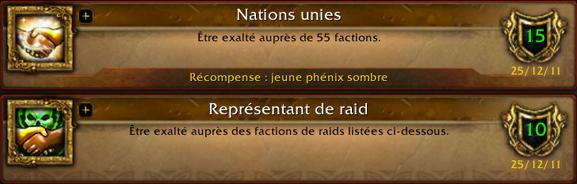 Nations unies et Représentant de raid Nation10