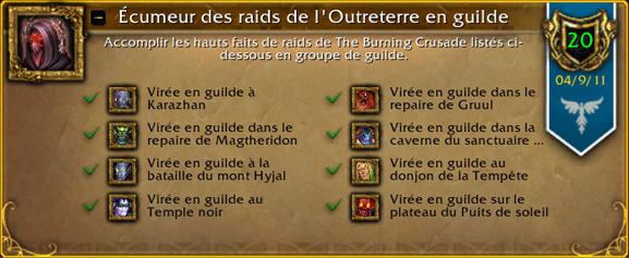 Écumeur des raids de l'Outreterre en guilde. Outret11
