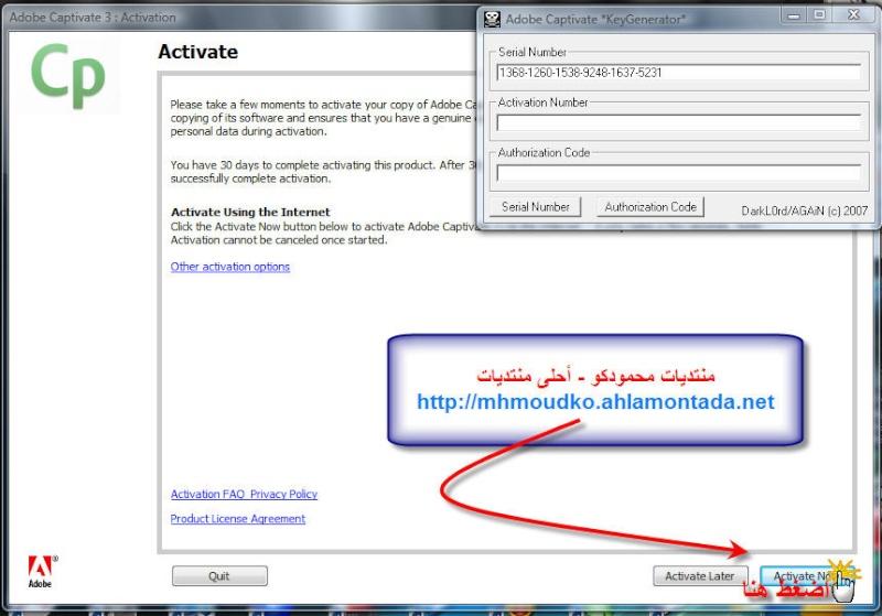 شرح و تحميل برنامج الشروحات الفلاشية Adobe Captivate 3...! 1315