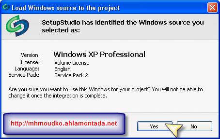 كيفية صنع ويندوز (شرح مصور من الألف الى الياء) ببرنامج Setup Studio 2810