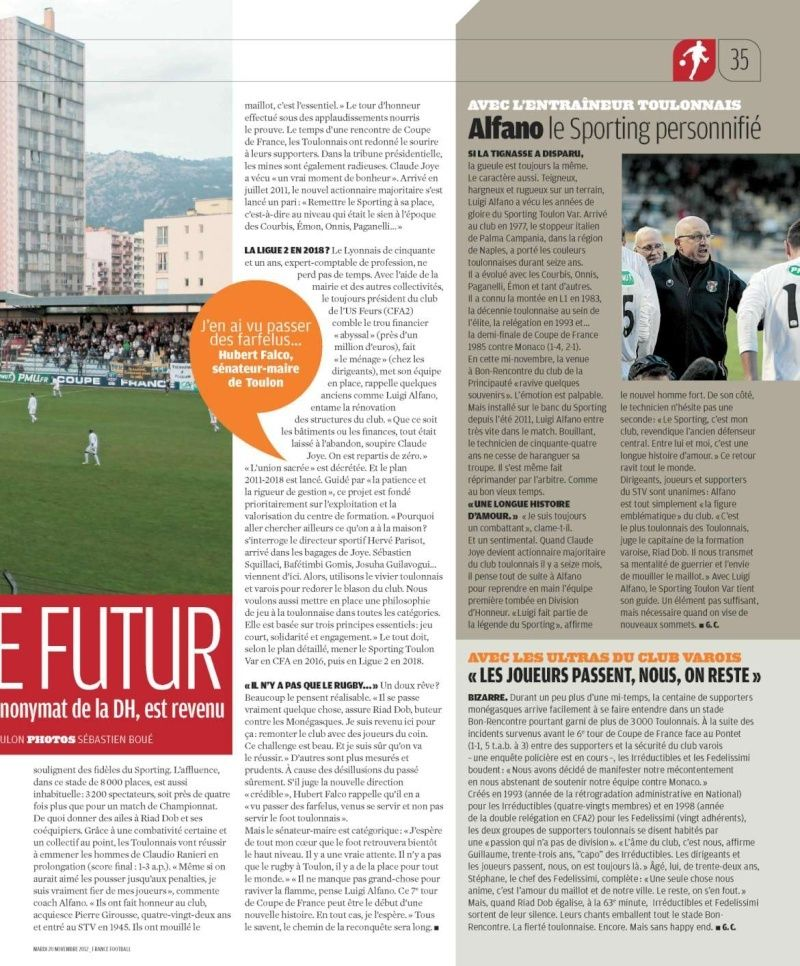 France Football magazine P3511