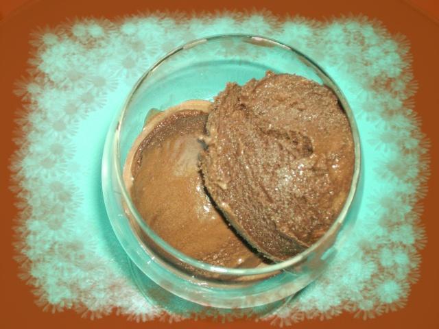 GLACE AU CHOCOLAT (sans oeuf) Cacao410
