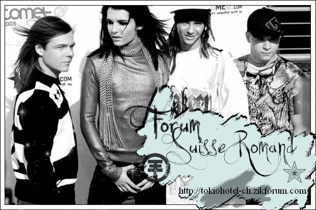 Premier forum Suisse Tokio Hotel